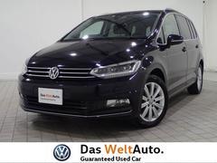 VW ゴルフトゥーランハイライン 認定中古車 純正SDナビ セーフティー DSRC