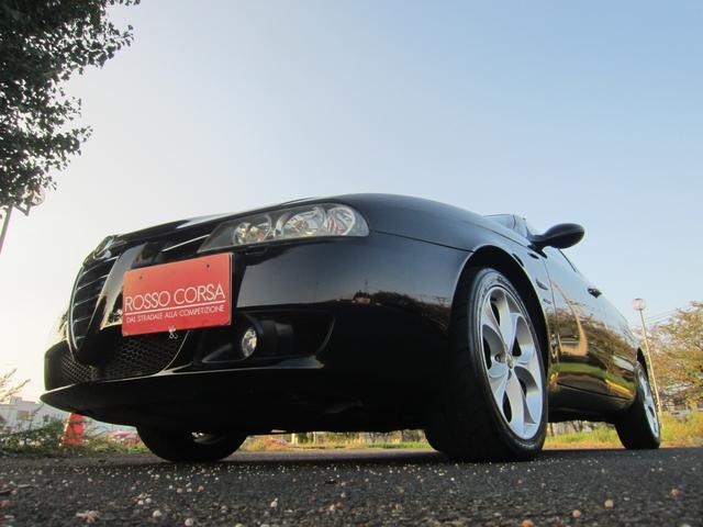 アルファ156スポーツワゴン リネアロッサ2.5 V6 24V Qシステム レッドレザーシート 限定車