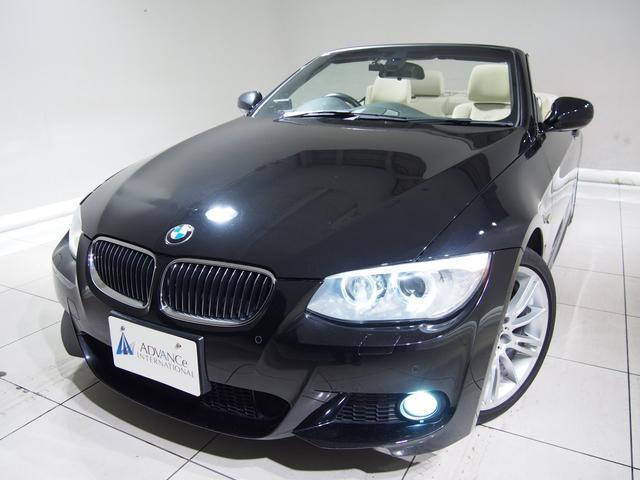 BMW 335iカブリオレMスポPKGアイボリー革純ナビ18AW