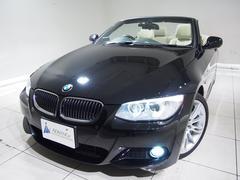 BMW335iカブリオレMスポPKGアイボリー革純ナビ18AW