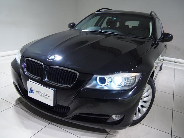 BMW 320iツーリング ハイライン 黒革 地デジ Bカメ 純ナビ