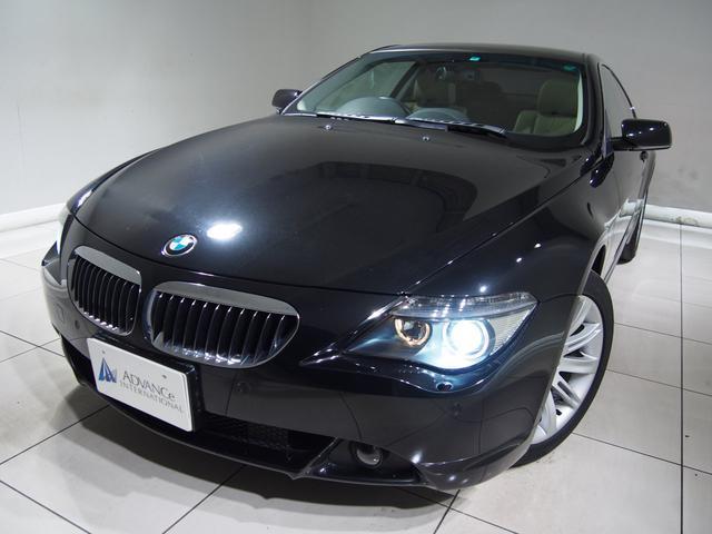 BMW 650iベージュ革ガラスSR地デジHDDナビキセノン18AW