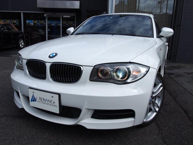 BMW 135iNEWiDriveHDD黒革パドルシフト純正18AW