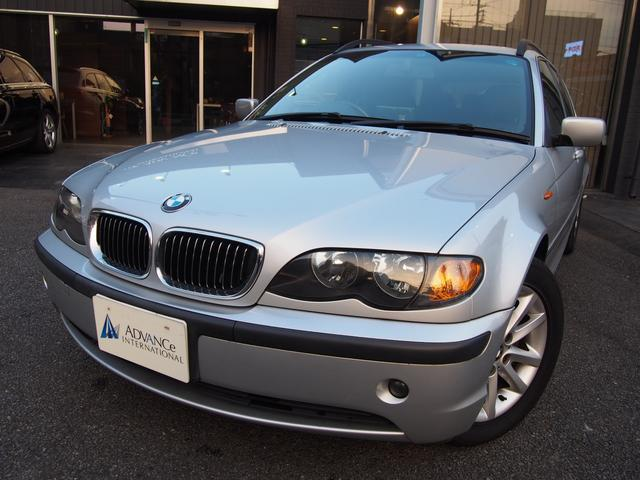 BMW 325iツーリングハイライン正規D車黒革外ナビI地デジBカメ
