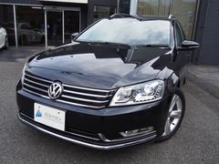 VW パサートヴァリアントTSIハイライン黒革アイドリングSTOP社外ナビBカメ地デジ