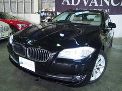 BMW528iツーリングアイボリー革パノラマSRブルートゥース