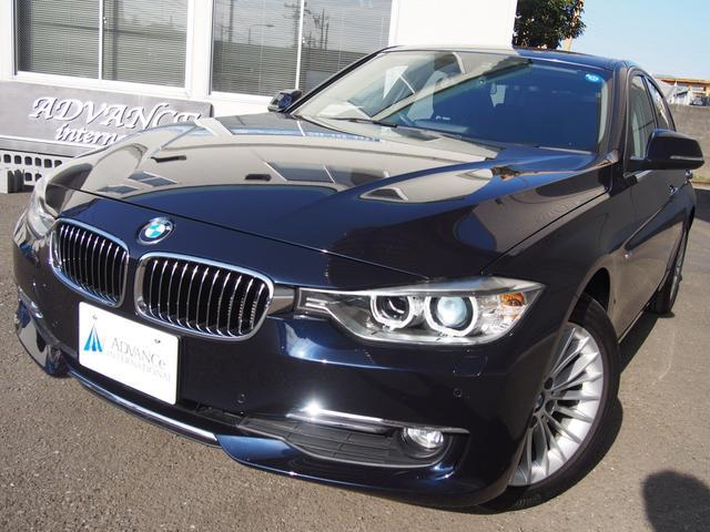 BMW 320dラグジュアリー黒革FカメラTOPビュー地デジ17AW