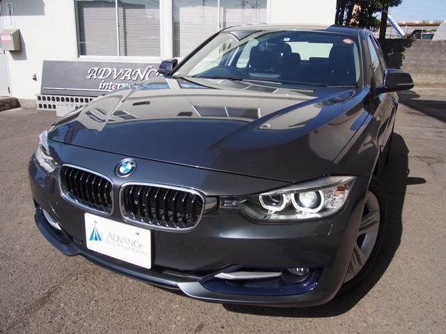 BMW 320i スポーツ黒革Bカメ地デジBluetooth17AW