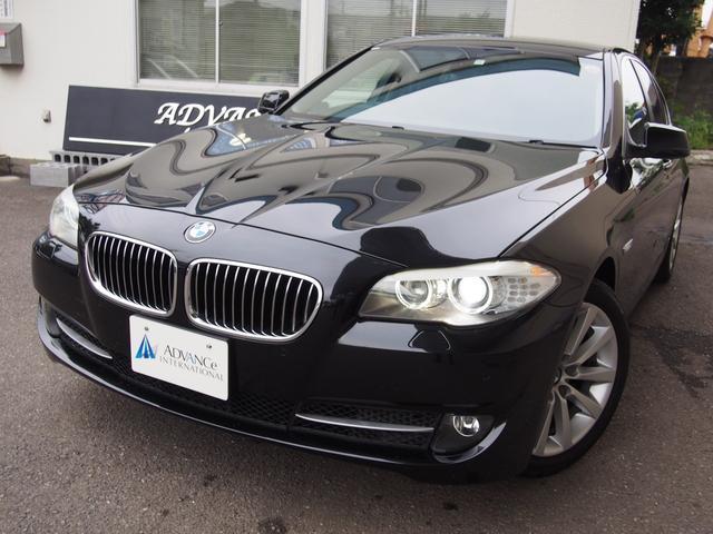 BMW 528i黒革HDDナビ地デジBカメラPセンサー純18AW