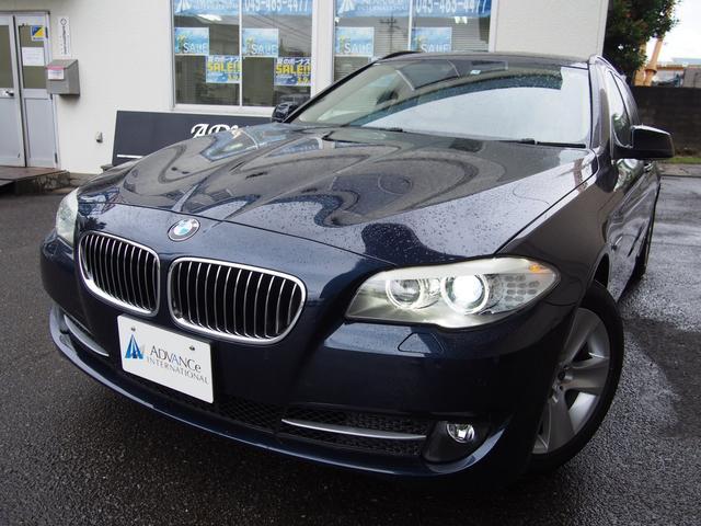 BMW 528iツーリングベージュ革フルセグ地デジBカメラ17AW
