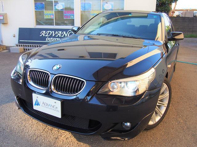 BMW 530i Mスポーツ当社管理車ハーフ革ガラスSR18AW