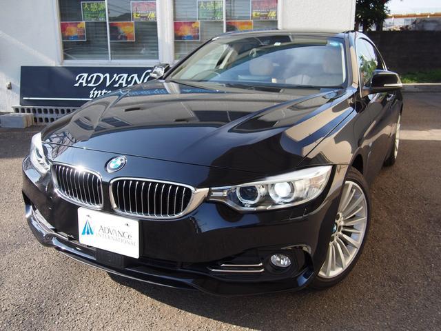 BMW 420iグランクーペベージュ革インテリセーフACCHDDナビ