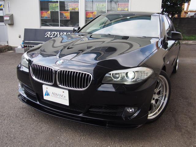 BMW 5シリーズ 535i コンフォートPKGアイボリー革地デ...