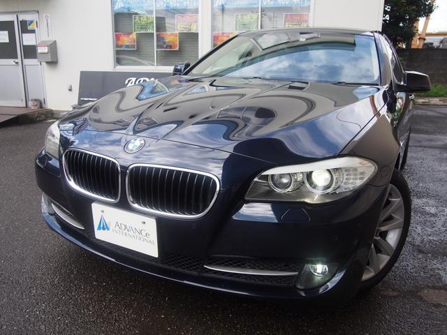 BMW 528iComfortPKGオイスター革純正ナビ地デジBカメ