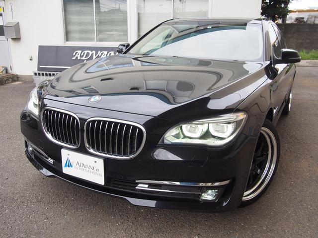 BMW 740iComfortPKGベージュ革インテリセーフSR