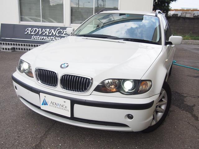 BMW 318iツーリング ハイラインパッケージ当店下取最終型l黒革