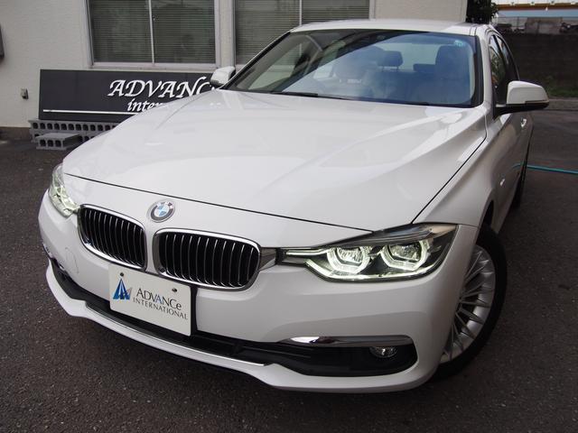 BMW 320iラグジュアリー後期ACCセーフティベージュ革LED