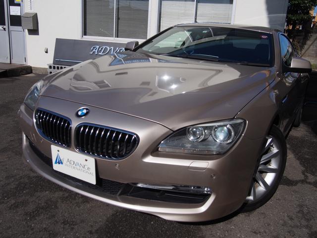 BMW 640iクーペ下取車黒革iDriveHDDナビ地デジBカメ