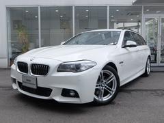 BMW523dツーリング Mスポーツ 2年保証付 ACC