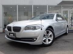 BMW528i 1年保証付 ブラックレザー 純正HDDナビ