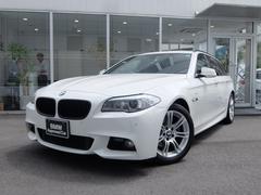 BMW523iツーリング Mスポーツ 1年保証 純正ナビ Bカメラ