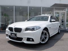 BMW523dツーリング Mスポーツ 1年保証 LCIモデル 茶革