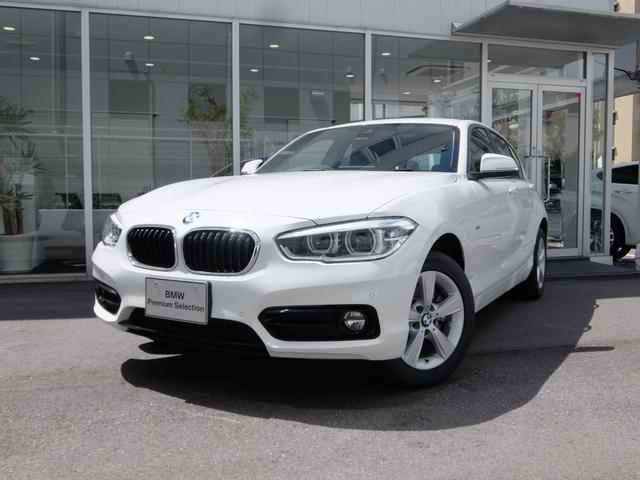 BMW 118d スポーツ 2年保証 登録済み未使用 衝突軽減