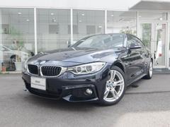 BMW420iグランクーペ Mスポーツ 2年保証 白革 ACC