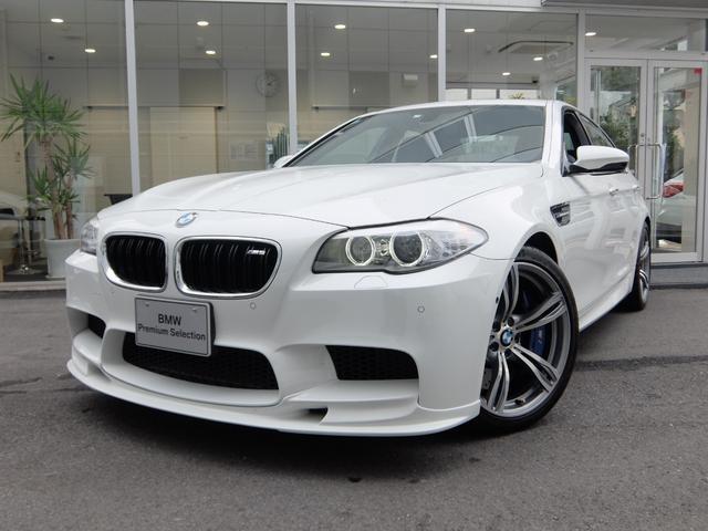 BMW M5 1年保証 OP20インチ 黒革 社外リップ