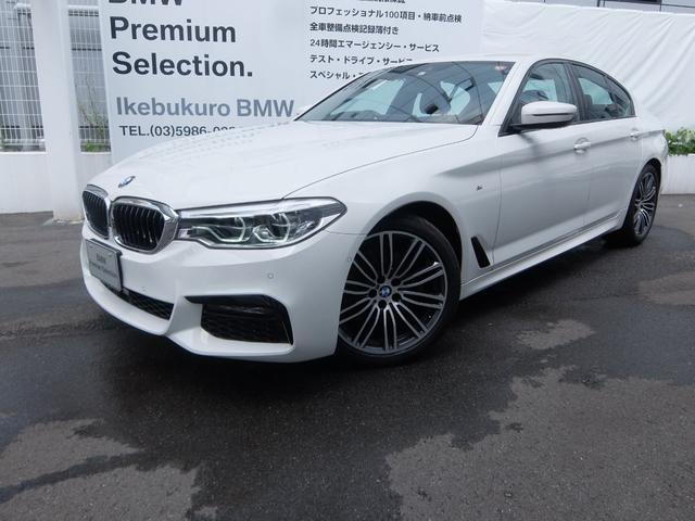 BMW 5シリーズ 523d Mスポーツ ハイラインパッケージ 純正ブラックレザ-シート・シートヒーター・ACC・BMW正規ディーラー管理車