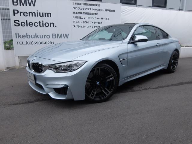 BMW M4クーペ 左ハンドル 6速マニュアル車