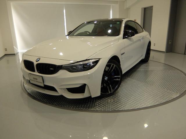 BMW M4クーペ M DCT ドライブロジック サキールオレンジ内装 2年保証