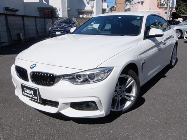 BMW 420iグランクーペ Mスポーツ 1年保証・アクティブクルーズコントロール付