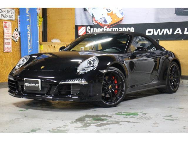 ポルシェ 911カレラ4 カブリオレ スポクロPKG Sキャリパー
