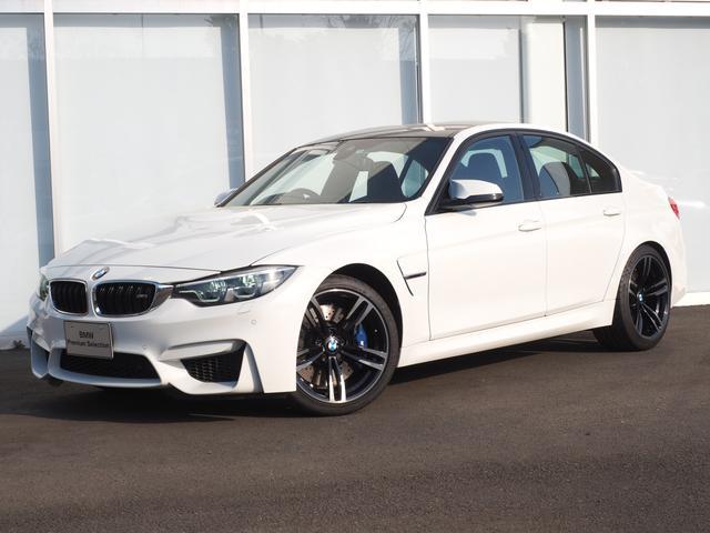 BMW M3 弊社デモカー19AWLEDブラックレザーシートPDC