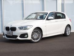 BMW118d Mスポーツ弊社デモカー禁煙BカメラLEDライト