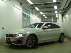 BMW420iグランクーペ ラグジュアリー 茶革シート ACC