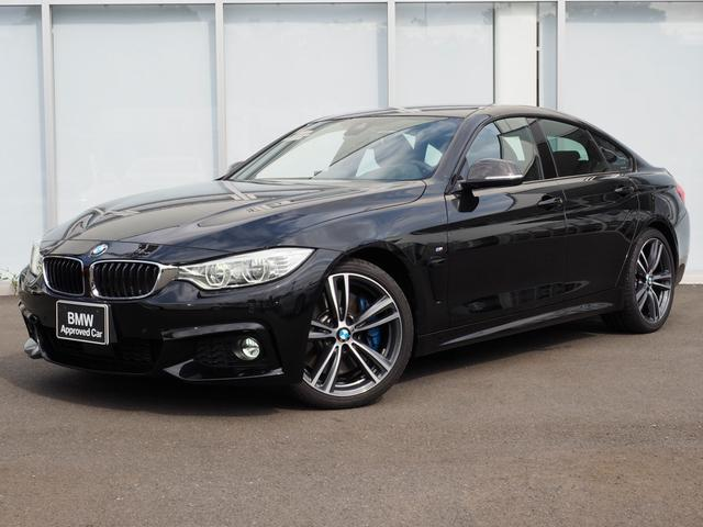 BMW 435iグランクーペ LED 弊社下取り 黒革シート