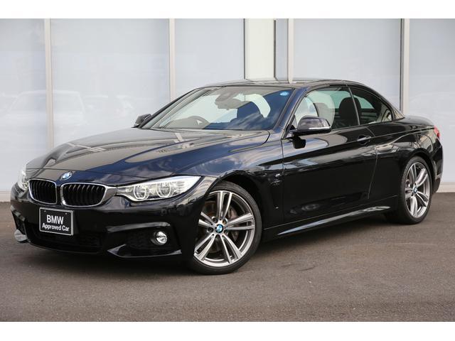 BMW 435iカブリオレ Mスポーツ ACC 19AW 黒革シート