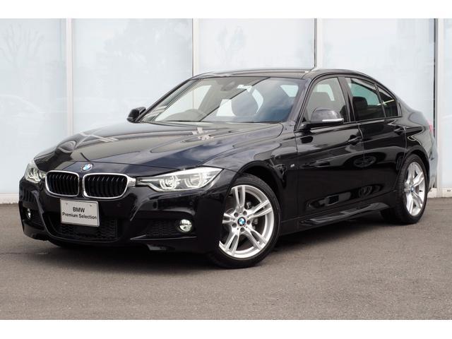 BMW 320d MスポーツLEDライト18AW黒革ACC弊社デモ車