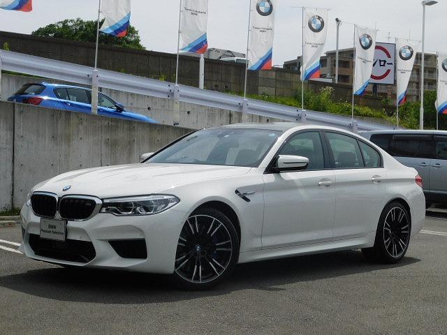 BMW M5弊社デモカーMxDrive600馬力黒革ACC20AW