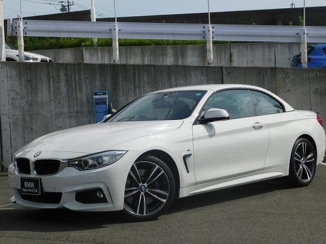 BMW 435iカブリオレ Mスポーツ ファストトラックP黒革ACC