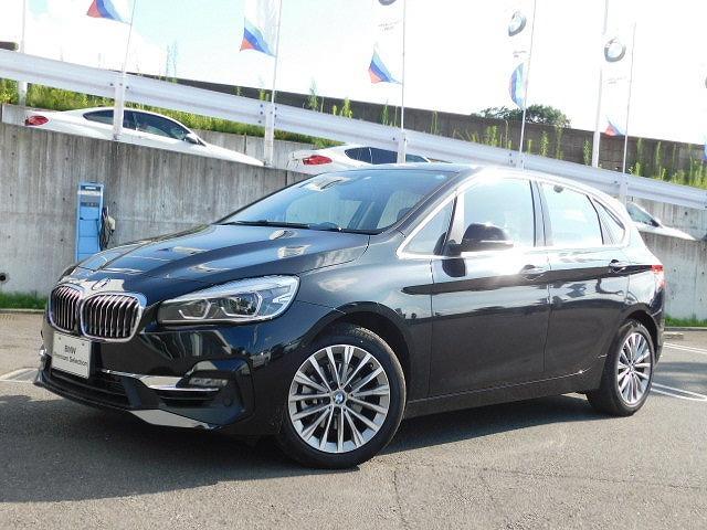 BMW 218iアクティブツアラー ラグジュアリー 黒革Pシート