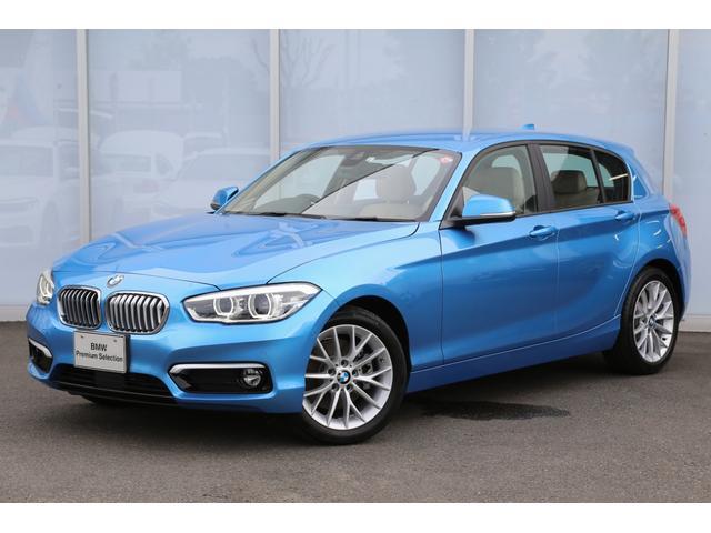 BMW 118d ファッショニスタ ベージュ革 ACC LED