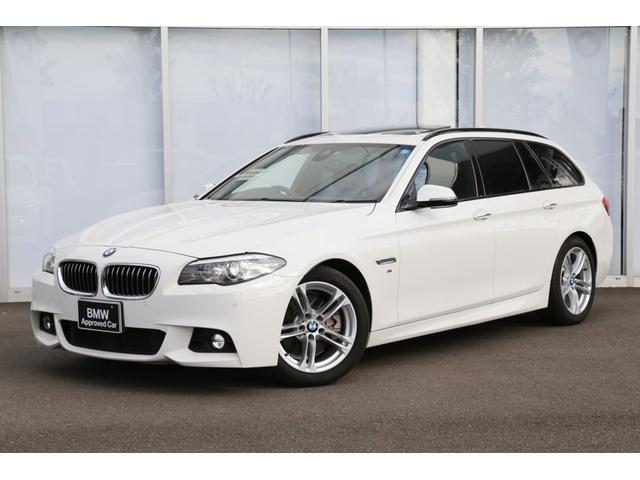 BMW 523dツーリング Mスポーツ サンルーフ ACC パドル