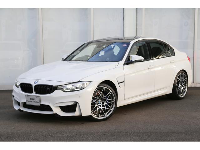 BMW M3セダン コンペティション ハーマンカードン 黒革 デモ