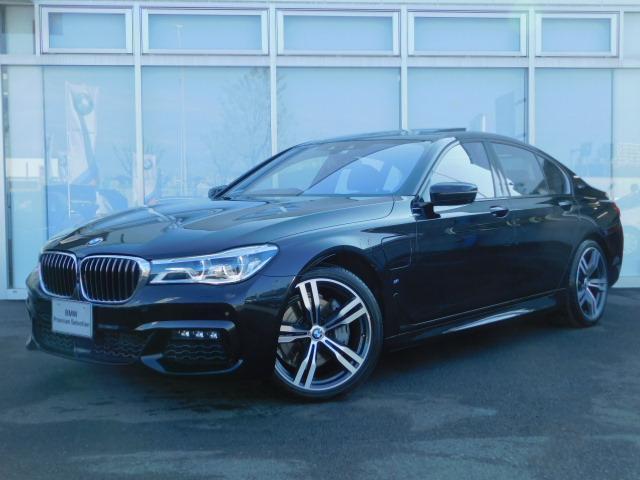BMW 740eアイパフォーマンス Mスポーツリアエンタメ20AW
