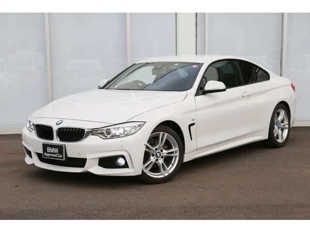 BMW 420iクーペ Mスポーツ弊社下取フロントカメラBカメラ