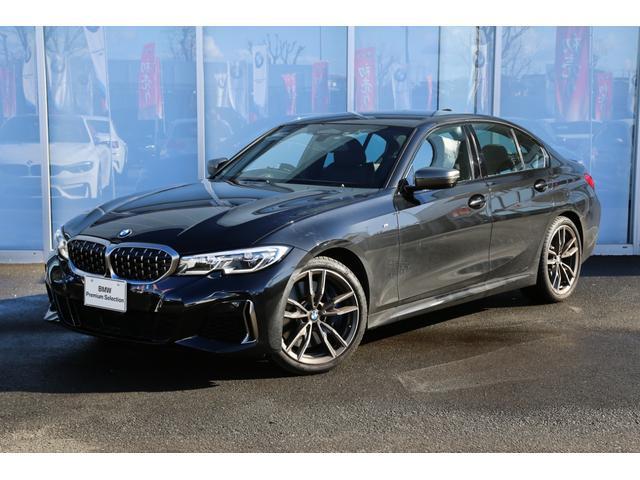 BMW M340i xDrive デモカー 黒革 ハーマンカードン
