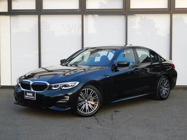 BMW 320i Mスポーツ 18AW前後PDC黒布PシートMFSシートヒーターLEDワイヤレス充電パドルシフトBカメラACCコンフォートアクセスSOSコールHUDアルミトリムUSBスクリーンミラーリング